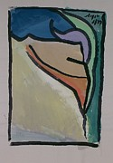 Gouache Paintings - Abstract 106 by Chuck Boyer