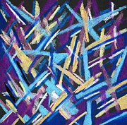 Lively But Commented Pastels - Abstract 2 by Sandra Conceicao