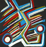Abstract 3 Print by Sandra Conceicao