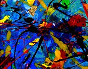 Fine Art Original Mixed Media Prints - Abstract 39 Print by John  Nolan