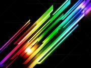 Rainbow Digital Art Metal Prints - Abstract 45 Metal Print by Michael Tompsett