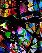 Funky Mixed Media - Abstract 47 by John  Nolan