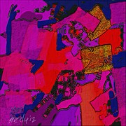 Card On Request Paintings - Abstract 520 by Nedunseralathan R