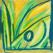 Lively But Commented Pastels - Abstract 60 by Sandra Conceicao