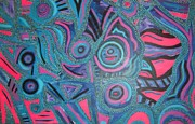 Sarasota Artist Mixed Media - Abstract by Anita Wexler