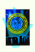 Palmistry Photo Posters - Abstract Artwork Of Fortune Telling Poster by Victor Habbick Visions