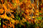 Grist Mill Prints - Abstract Babcock State Park Print by Thomas R Fletcher