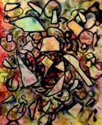 Dance Mixed Media - Abstract Bird by John  Nolan