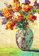 Marion Rose Art - Abstract Boquet IV by Marion Rose