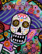 Serenata Posters - Abstract Catrina Poster by Pristine Cartera Turkus