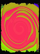 Merge Prints - Abstract Color Merge Print by Will Borden