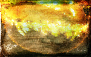 Corn Digital Art Posters - Abstract Corn Poster by Andrea Barbieri