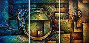 Large Paintings - Abstract Design 4 by Michael Lang