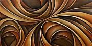 Sofa Size Art - Abstract Design 43 by Michael Lang