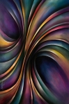 Chromatic Art - Abstract Design 55 by Michael Lang