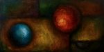 Basic Paintings - Abstract Design 58 by Michael Lang