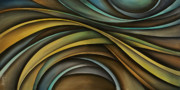 Large Paintings - Abstract Design 99 by Michael Lang