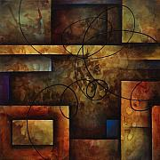 Abstract Art Painting Originals - abstract design  A by Michael Lang
