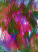 Abstract Dreams Print by Gina Manley