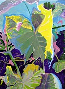 Susan  McNeil - Abstract Elephant Ear