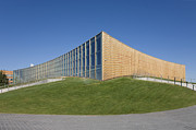 Landscaped Prints - Abstract Exterior of a University Sports Club Print by Jaak Nilson
