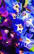 Flowers - Abstract Floral 031112 by David Lane