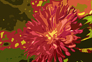 Nature Divine Posters - Abstract Flower 10 Poster by Sumit Mehndiratta