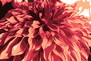 Nature Divine Posters - Abstract Flower 13 Poster by Sumit Mehndiratta