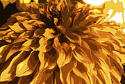 Nature Divine Posters - Abstract Flowers 14 Poster by Sumit Mehndiratta