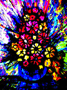 Artist Singh - Abstract Flowers