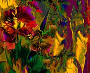 Doris Wood - Abstract Flowers