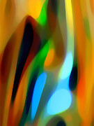 Abstract Garden Light Print by Amy Vangsgard