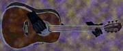 Kate Farrant - Abstract Guitar Mosaic