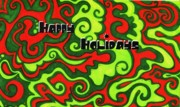 Mandy Shupp - Abstract Happy Holidays