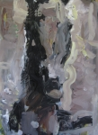 Abstract Horse Paintings - Abstract Horse Painting by Robert Joyner