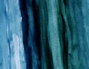 Abstract Hues Print by Marsha Heiken
