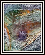 Rock Shapes Paintings - Abstract Landscape    by Ruth Edward Anderson