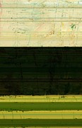 Agriculture Digital Art - Abstract Landscape - The Highway Series ll by Michelle Calkins