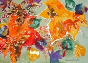 Kimberlee Weisker - Abstract Leaves Mixed...