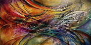 Layered Prints - Abstract Print by Michael Lang