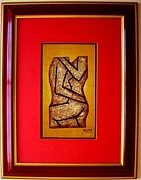 Nudes Reliefs - Abstract Nude by E Dain Mcleod