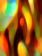 Bird Of Paradise Flower Digital Art - Abstract Rising Up by Amy Vangsgard