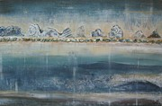 Scottish Art Originals - Abstract Scottish Landscape by Jacqui Hawk