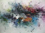 Abstract Seascape00117 Print by Seon-Jeong Kim