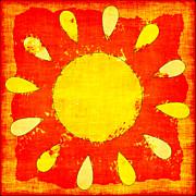 Abstract Sun Print by David G Paul
