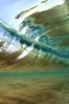 Ocean Waves Framed Prints - Abstract Underwater 2 Framed Print by Vince Cavataio - Printscapes