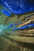 View From Ocean Posters - Abstract Underwater View Poster by Vince Cavataio - Printscapes