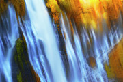 Agriculture Digital Art - Abstract Waterfalls by Keith Kapple