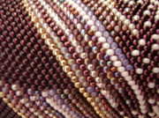 Seed Beads Prints - Abstract Print by Yvette Pichette