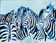 Gwendolyn Frazier - Abstract Zebras